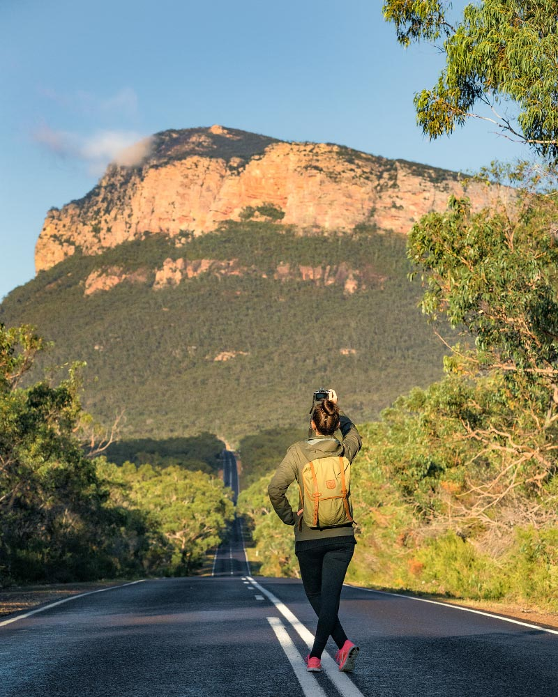 Road out of the Grampians
