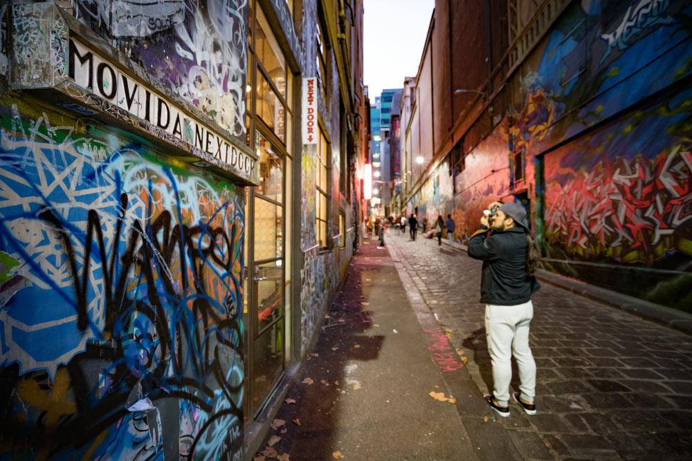 Streetart in Melbourne