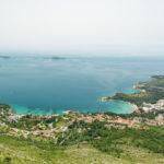 Blick auf die Bucht mit dem Sheraton Dubrovnik Riviera Hotel