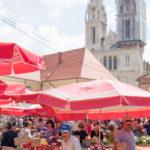 Bauernmarkt in Zagreb