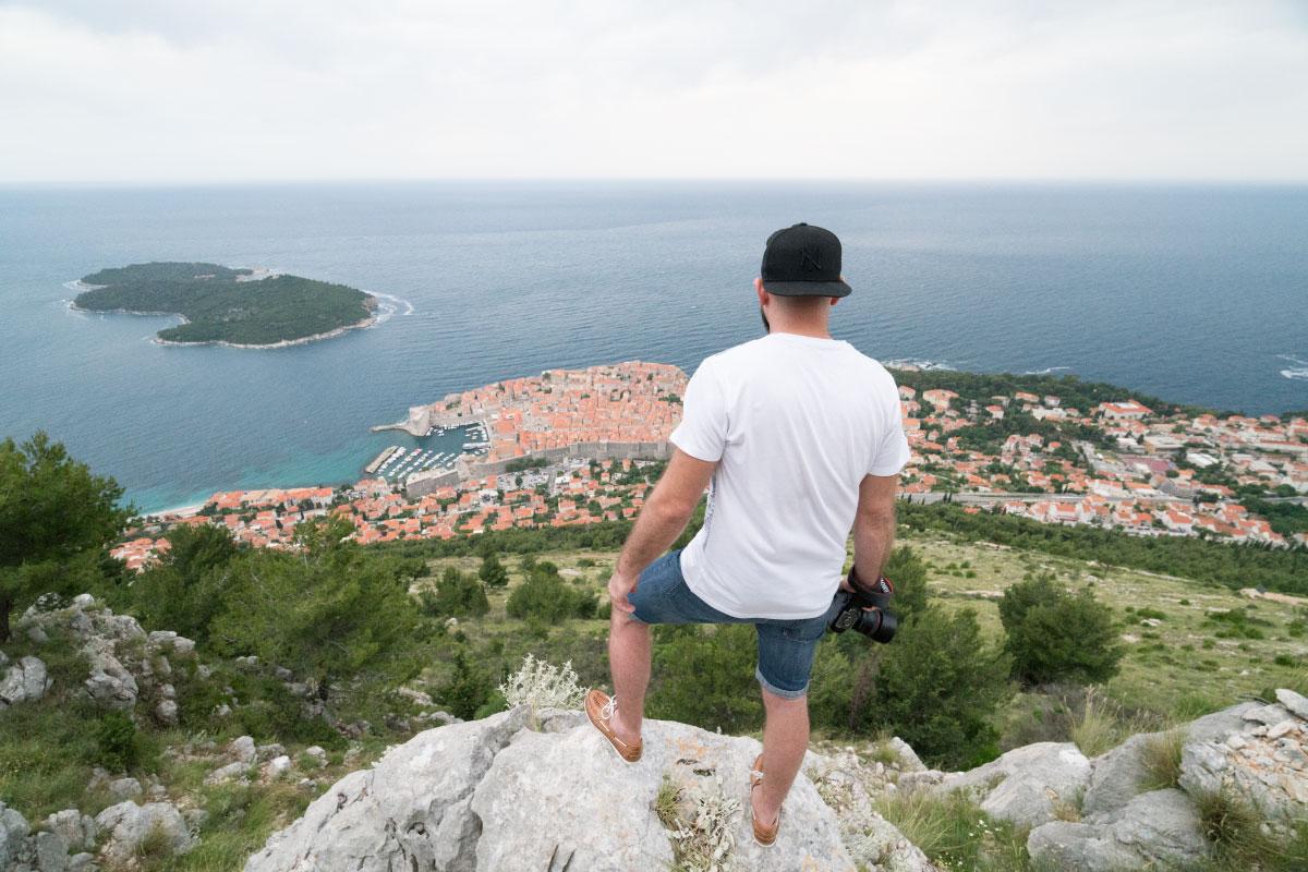 Über Dubrovnik
