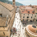Straßen in Dubrovnik