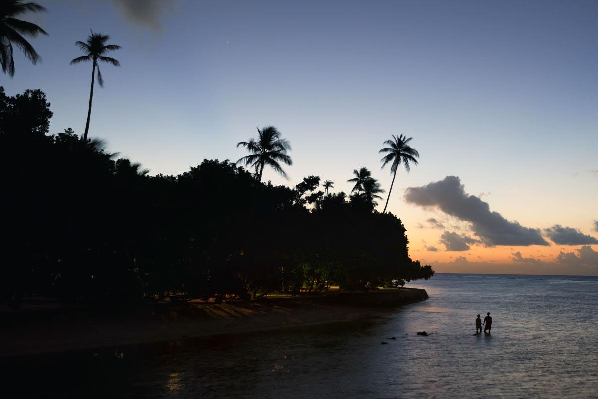 Sonnenuntergang auf Wangiwangi