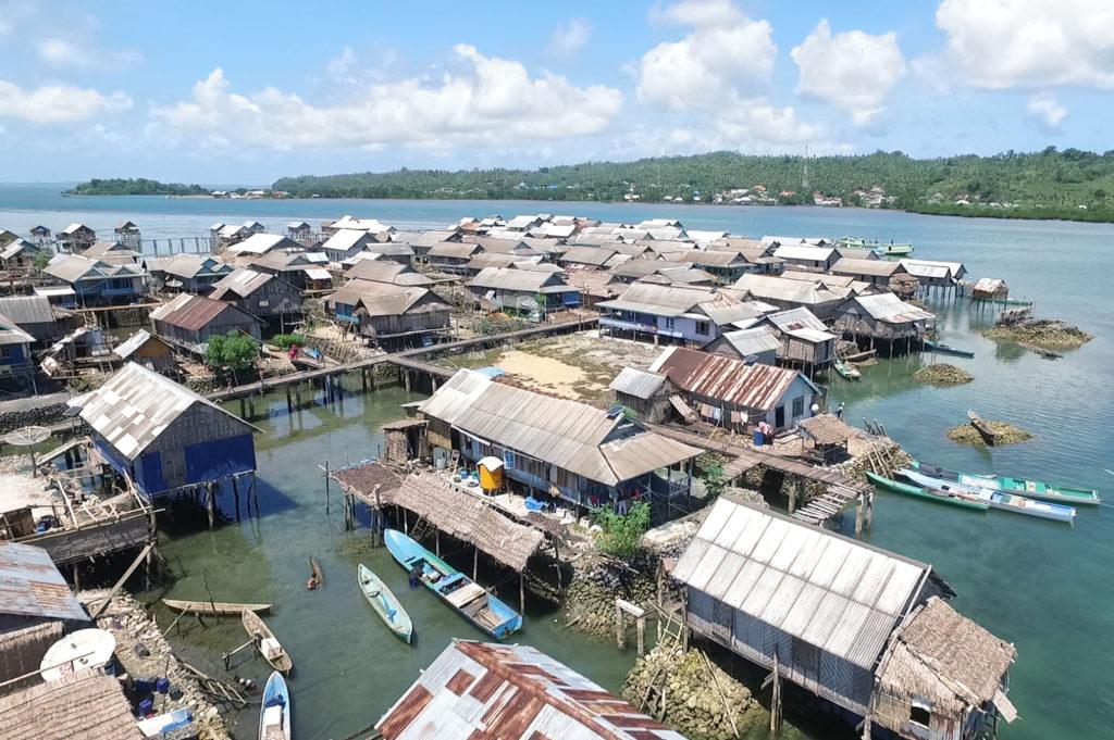 Dorf der Bajo