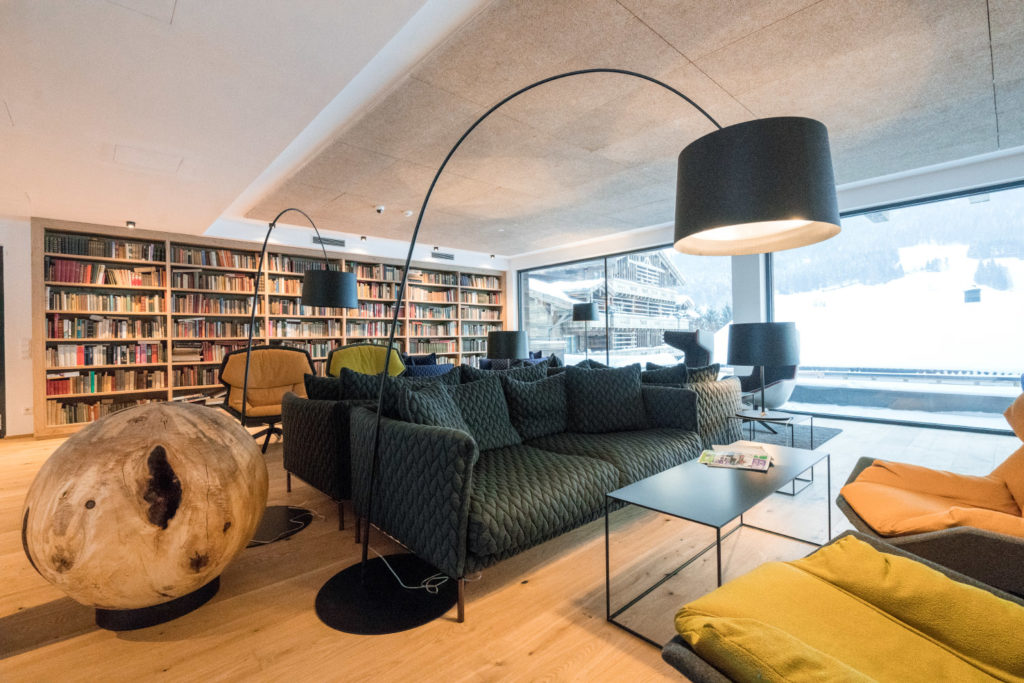 Puradies - Bibliothek