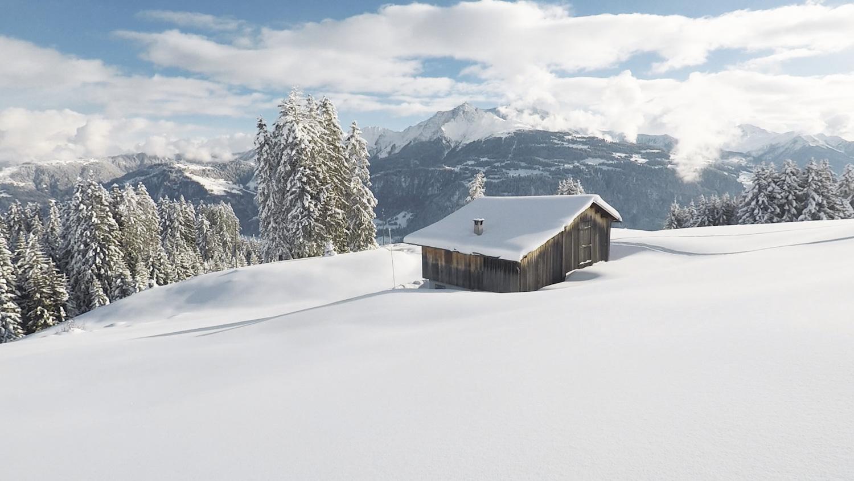 Hütte Laax