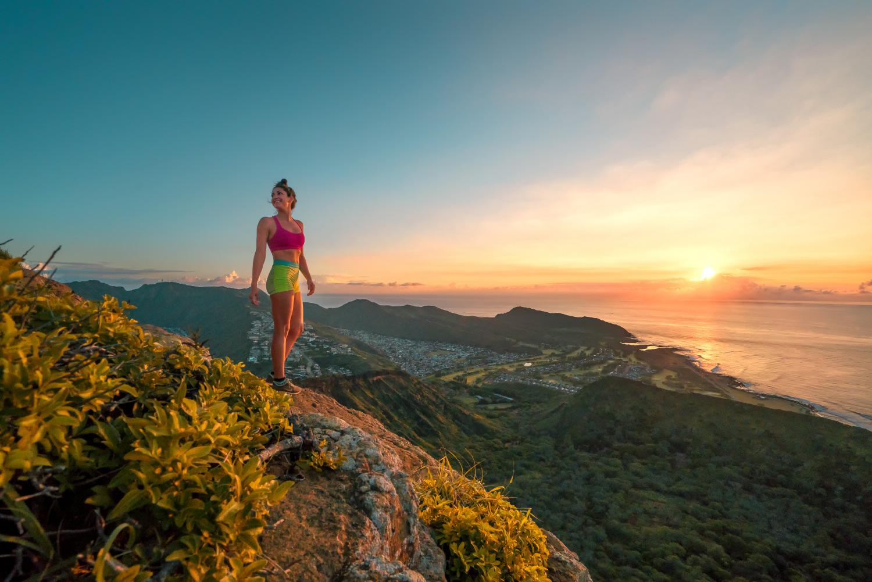 Wanderung zum Kokohead bei SonnenaufgangWanderung zum Kokohead bei Sonnenaufgang