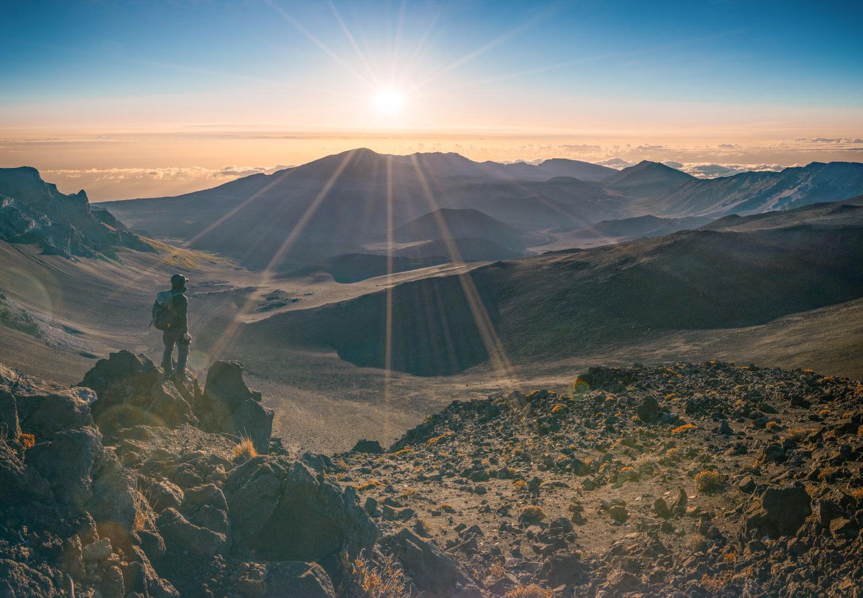 Sonnenaufgang auf dem Haleakala