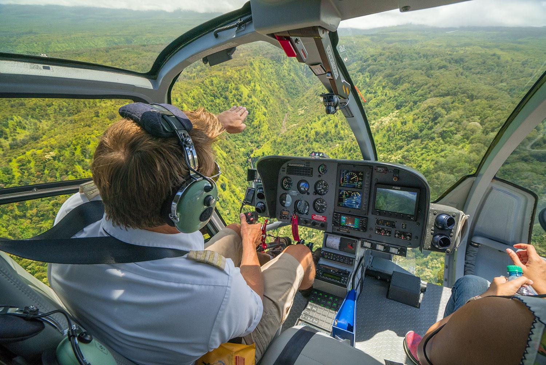 flug über Maui mit Maverick Helicopters