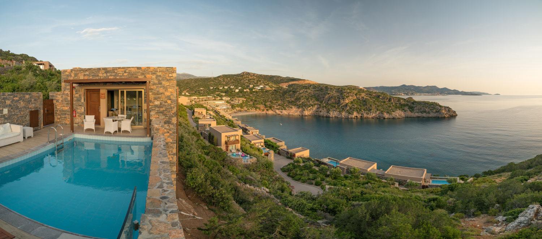 Daios Cove bei Sonnenaufgang
