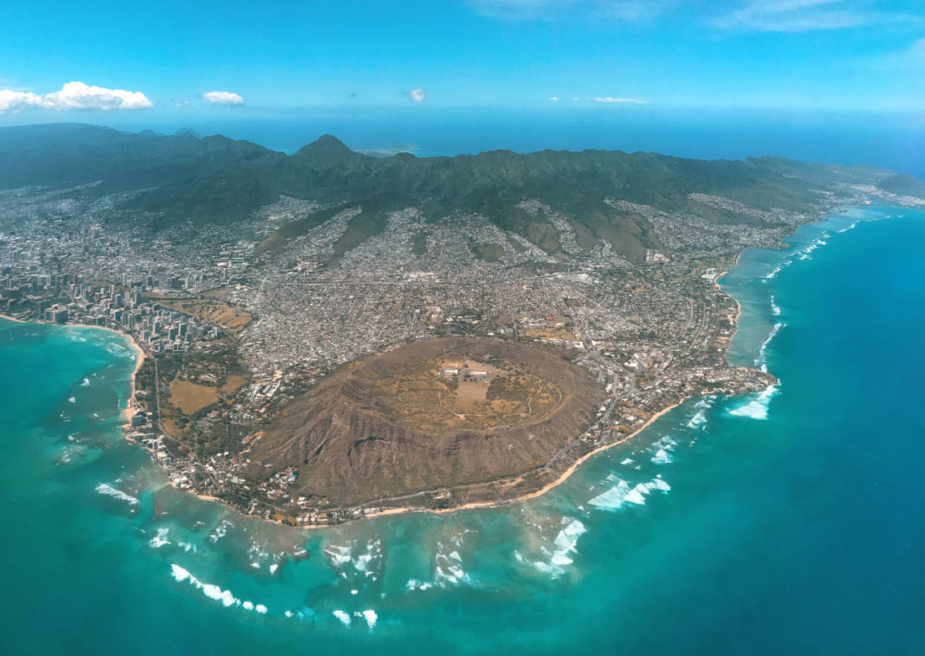 Diamond Head und Honolulu
