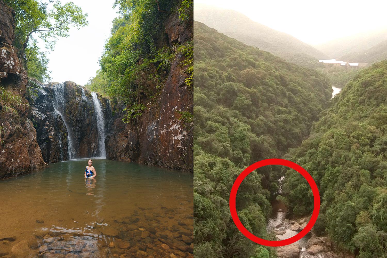 Tai Tam Wasserfall