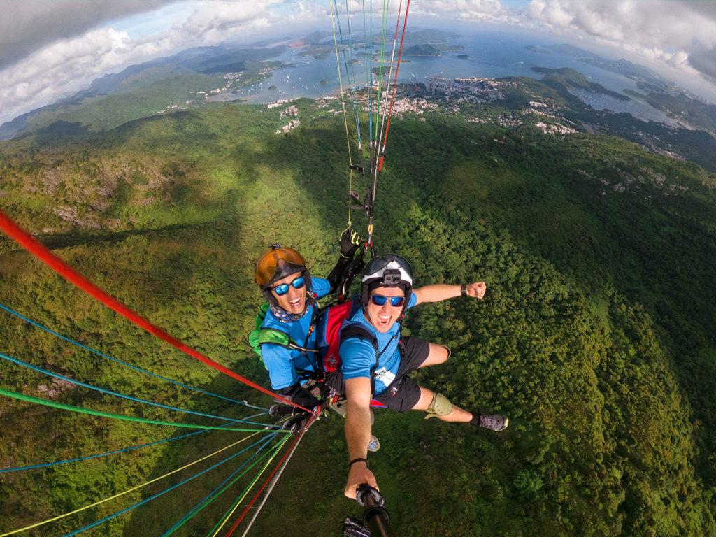 Paragliding Ma On Shan, Sai Kung