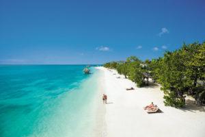Strandabschnitt am Resort